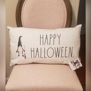 Rae Dunn Happy Halloween pillow
